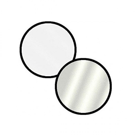 """Godox 110cm 43"""" 2 in 1 Collapsible Light Reflector (White & Silver)"""