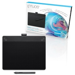 Wacom Intuos Art Medium CTH-690 Pen and Touch Digital Graphics Drawing Tablet