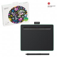 Wacom Intuos CTL4100 Small Pen and Touch Digital Graphics Drawing Tablet