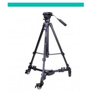 Yunteng YT-900 Aluminium alloy Foldable Camera Tripod Dolly