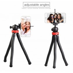 Bakeey MZ305 Flexible Octopus Tripod Stand with Ball Head