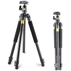 QZSD Q308 Aluminum Portable Tripod with Ball Head