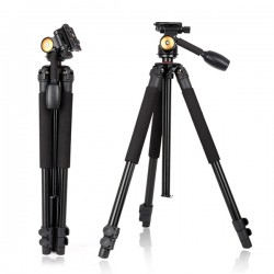 QZSD Q360A Portable Camera Video Tripod