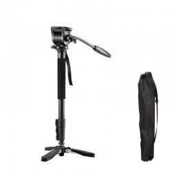 Weifeng WF-3978M Aluminum Alloy Video Camera Monopod with 2-way Pan Head