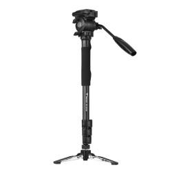 Weifeng WF-3958M Professional Aluminum Alloy Camera Monopod with Fluid Pan Head